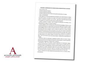 documenti per chiedere nomina amministratore di sostegno